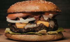 buffet de hambúrguer